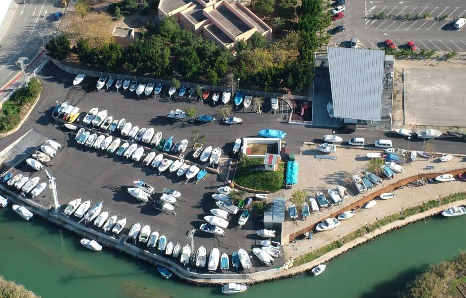 servicios para embarcaciones marina seca